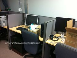 used office cubicle installation service in Washington DC