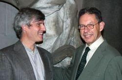 Henri Zerner and RB, 2008