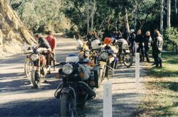 1981 Alpine Rally @ Perkins Flat - 'where the tar started'