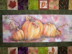 Lu's Pumpkin  Panel