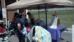 Child Safety Fair Booth