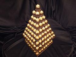 Ferrero Rocher Pyramid Hire Holding 160 ferreros £79