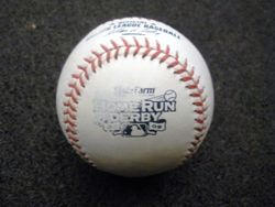 ALL STAR GAME AUCTION: Game-Used Baseball from 2009 Home Run Derby - Albert Pujols Call Your Shot Round Out #2 (7/13/09)