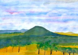"""  Mount Plumbwood  , The King's HWY to Braidwood  """