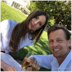 Ester and Tomas Berdych