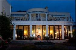 Cliffden Hotel by night,  Oct 2015