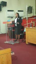 Speaker Sis Tammy Stocker