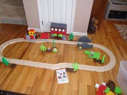 Little Tikes Waffle Blocks Steam Train - $50