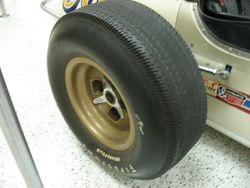 The Firestone tire that changed the game in 1963