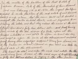 Property Deed of the Estate of Jackson Beaver to Mary Jane Snare - Page 2