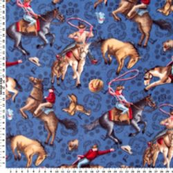 Cowboys & Horses - COTTON - 106