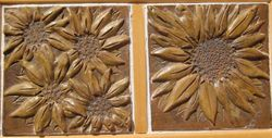 Sunflower Double Tile