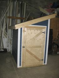 Snowblower shed