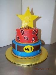25 serving cowboy cake $100