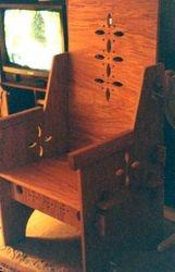 A four piece chair