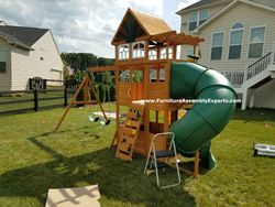 backyard discovery swing set assembly service in potomac MD