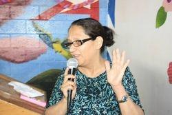 Hna Sarari, Coordinator of this annual event in El Salvador