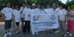 Walk for a Cause at Ohori Park, Fukuoka