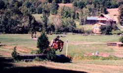 Sparky at GMHA first XC school 2007