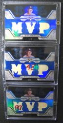 Stan Musial 2008 Topps Triple Threads Game Used Relic Cards Set