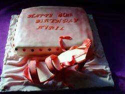 40th Birthday (shoe)  Gluten Free