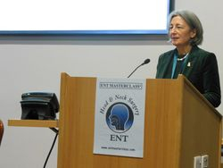 Miss Clare Marx, President Royal College of Surgeons, talks of the current challenges