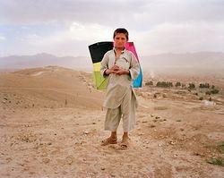 Afghan Boy and his kite!