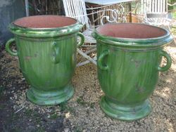 #15/ 239 Pair of Anduze Pots