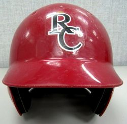 Colby Rasmus High School Game Used and Signed Batting Helmet