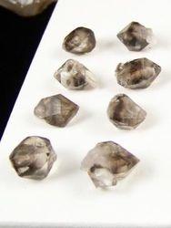 09-00445 Smoky Quartz Herkimer Shape Jewelry Quality