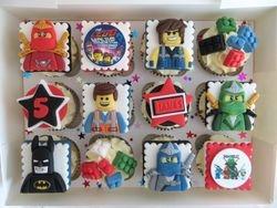 James's 5th Birthday Cupcakes