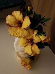 Sugar Hibiscus arrangement