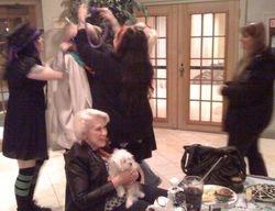 Mulysa, Mady and I Lei'n Eddie as Judy watchs