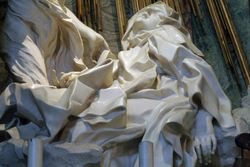 Bernini, Ecstasy of Teresa, detail, S. Maria della Vittoria, Rome