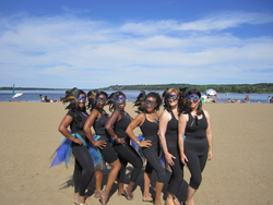 "The ""SoulRhythm ""Crew at the beach"
