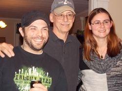 Team members Gary, Tom and Jen