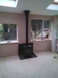Free standing larkfield stove
