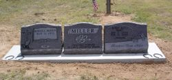 Located in Bullock Cemetery, Ranger, Texas