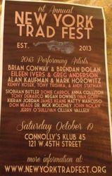 New York Trad Fest 2013