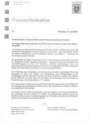 Pressemitteilung vom Land Hessen