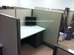 used office cubicle installation service in rockville MD
