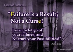 Failure is a Result