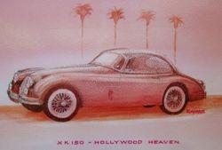 Hollywood XK150 Jaguar