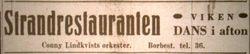 Strandrestauranten Viken 1946