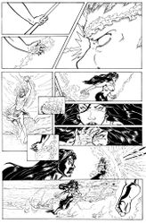 Legend of Pele page 4 (inks)