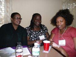 Denise, Anna and Telisha