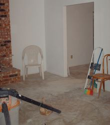 Cleanup in the Living Room