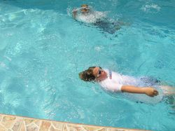 Learning backstroke