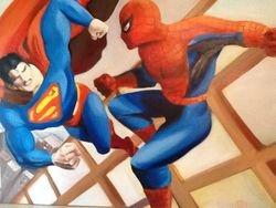Artwork from brother, Ernesto Cinzano