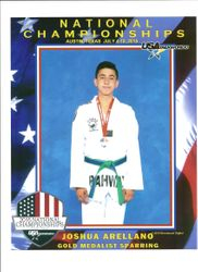 2015 National Championship Austin Texas July 4-10,2015 Joshua Arellano 1st Place Sparring